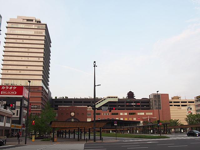 大分駅ビル開業後の既存商店街との住み分け